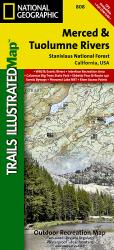 Buy map Stanislaus National Forest, Map 808 by National Geographic Maps