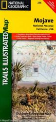 Buy map Mojave National Preserve, Map 256 by National Geographic Maps from California Maps Store