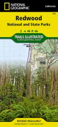 Buy map Redwood National/State Parks, Map 218 by National Geographic Maps
