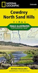 Buy map Cowdrey and North Sand Hills, Map 113 by National Geographic Maps from Colorado Maps Store