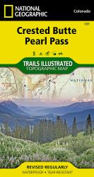 Buy map Crested Butte and Pearl Pass, Colorado by National Geographic Maps from Colorado Maps Store