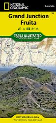 Buy map Grand Junction and Fruita, Map 502 by National Geographic Maps from Colorado Maps Store