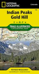 Buy map Indian Peaks and Gold Hill, Map 102 by National Geographic Maps from Colorado Maps Store