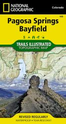 Buy map Pagosa Springs and Bayfield, Map 145 by National Geographic Maps from Colorado Maps Store