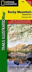 Buy map Rocky Mountain National Park, Map 200 by National Geographic Maps from Colorado Maps Store