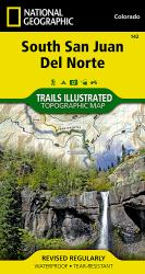 Buy map South San Juan and Del Norte, Colorado, Map 142 by National Geographic Maps from Colorado Maps Store
