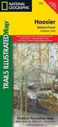 Buy map Hoosier National Forest, Map 770 by National Geographic Maps from Indiana Maps Store