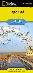 Buy map Cape Cod ,Coastal Recreation, Map 250 by National Geographic Maps from Massachusetts Maps Store