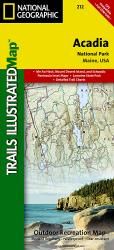 Buy map Acadia National Park, Maine, Map 212 by National Geographic Maps from Maine Maps Store