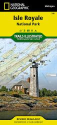Buy map Isle Royale National Park, MI, Map 240 by National Geographic Maps