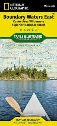 Buy map Boundary Waters Canoe Area Wilderness, East, MN, Map 752 by National Geographic Maps from Minnesota Maps Store