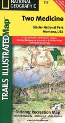 Buy map Glacier National Park, Two Medicine by National Geographic Maps in Montana Map Store