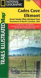 Buy map Cades Cove, Great Smoky Mountains National Park, Map 316 by National Geographic Maps from North Carolina Maps Store