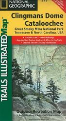Buy map Clingmans Dome and Cataloochee, Great Smoky Mtns Natl Park, Map 317 by National Geographic Maps from United States Maps Store