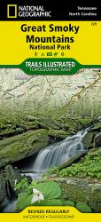 Buy map Great Smoky Mountains National Park, Map 229 by National Geographic Maps from United States Maps Store