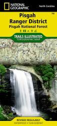 Buy map Pisgah Ranger District and Pisgah National Forest, Map 780 by National Geographic Maps