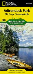 Buy map Adirondack Park, Old Forge and Oswegatchie, Map 745 by National Geographic Maps from New York Maps Store
