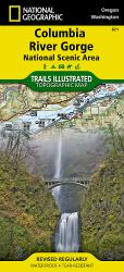 Buy map Columbia River Gorge National Scenic Area, Map 821 by National Geographic Maps from Oregon Maps Store