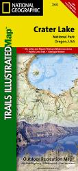 Buy map Crater Lake National Park, Map 244 by National Geographic Maps from Oregon Maps Store