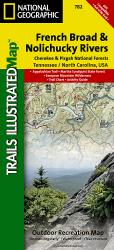 Buy map Cherokee and Pisgah National Forests by National Geographic Maps