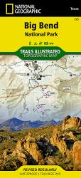 Buy map Big Bend National Park, Texas, Map 225 by National Geographic Maps from Texas Maps Store