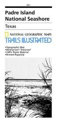 Buy map Padre Island National Seashore, Map 251 by National Geographic Maps from Texas Maps Store