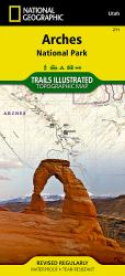 Buy map Arches National Park, Map 211 by National Geographic Maps from Utah Maps Store