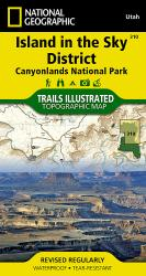 Buy map Canyonlands National Park, Island in the Sky District, Map 310 by National Geographic Maps from Utah Maps Store