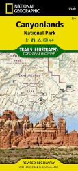 Buy map Canyonlands National Park, Utah, Map 210 by National Geographic Maps from Utah Maps Store