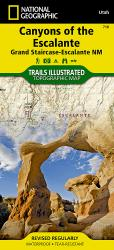 Buy map Canyons of the Escalante, Utah by National Geographic Maps from Utah Maps Store
