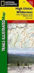 Buy map High Uintas by National Geographic Maps from Utah Maps Store