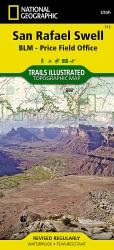 Buy map San Rafael Swell by National Geographic Maps from Utah Maps Store