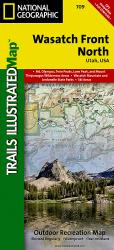Buy map Wasatch Front, North, Map 709 by National Geographic Maps from Utah Maps Store