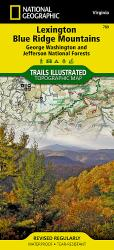 Buy map Lexington and Blue Ridge, Virginia by National Geographic Maps