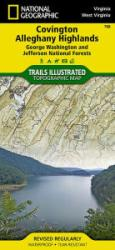 Buy map Covington and Alleghany Highlands, Virginia by National Geographic Maps from Virginia Maps Store