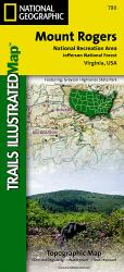 Buy map Mount Rogers National Recreation Area, Map 786 by National Geographic Maps from Virginia Maps Store
