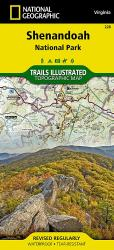 Buy map Shenandoah National Park, Map 228 by National Geographic Maps from Virginia Maps Store