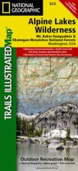 Buy map Alpine Lakes Wilderness, Washington, Map 825 by National Geographic Maps from Washington Maps Store