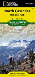 Buy map North Cascades National Park, Map 223 by National Geographic Maps from Washington Maps Store
