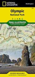 Buy map Olympic National Park,  Map 216 by National Geographic Maps from Washington Maps Store