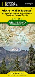 Buy map Glacier Peak Wilderness, Map 827 by National Geographic Maps