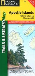 Buy map Apostle Islands National Lakeshore, Map 235 by National Geographic Maps from Wisconsin Maps Store