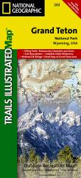 Buy map Grand Teton National Park, Map 202 by National Geographic Maps from Wyoming Maps Store