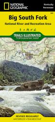 Buy map Big South Fork Natl River and Rec Area, KY/TN, Map 241 by National Geographic Maps from United States Maps Store
