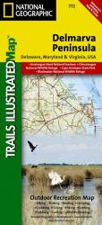 Buy map DelMarVa Peninsula, Map 772 by National Geographic Maps from United States Maps Store