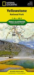 Buy map Yellowstone National Park by National Geographic Maps from United States Maps Store