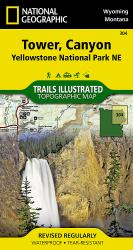 Buy map Yellowstone Northeast, Tower and Canyon by National Geographic Maps from United States Maps Store