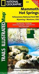 Buy map Yellowstone Northwest, Mammoth Hot Springs by National Geographic Maps from United States Maps Store