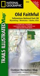 Buy map Yellowstone Southwest, Old Faithful by National Geographic Maps from United States Maps Store