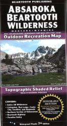Buy map Absaroka Beartooth Wilderness, Montana and Wyoming by Beartooth Publishing from United States Maps Store